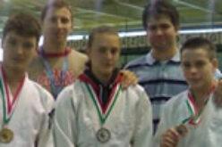 Világkupa bajnok KESI-s cselgáncsozók