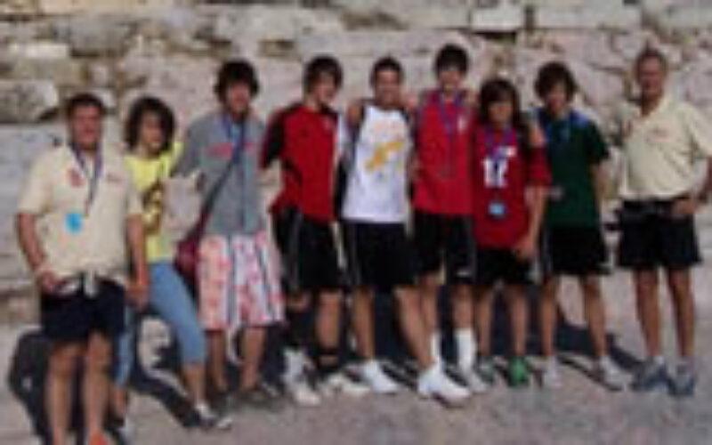Athénban a gyermek világjátékokon a kesi röpisei diadalmaskodtak