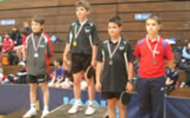 Országos újonc csapatbajnokság és diákolimpia 2010. május 30-31. Budapest