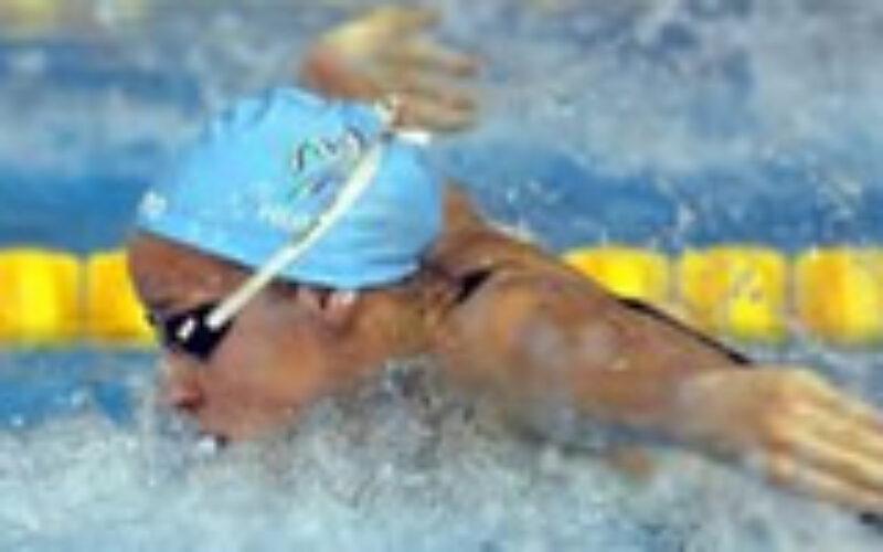 Éremeső az úszóknál