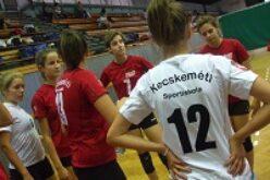 Símán jutott be az elődöntőbe a KESIS leány serdülő csapat!
