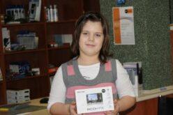 Petra nyerte a fényképezőgépet!