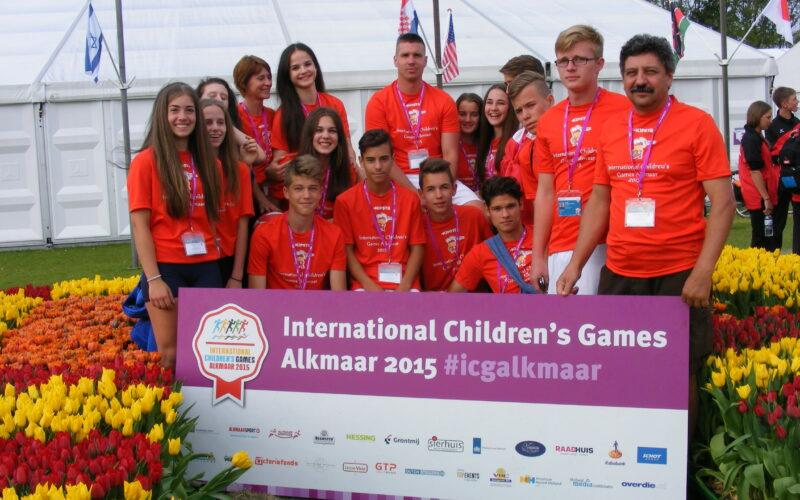49. Nemzetközi Gyermek Játékok Alkmaar (Hollandia)