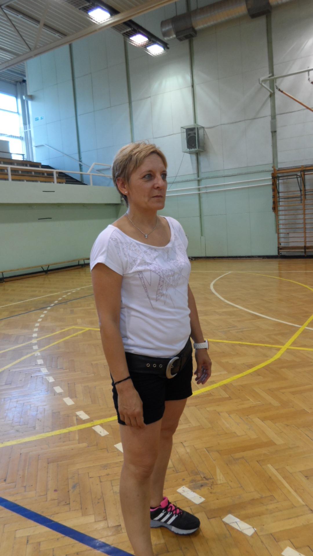 Szőke Tünde edző