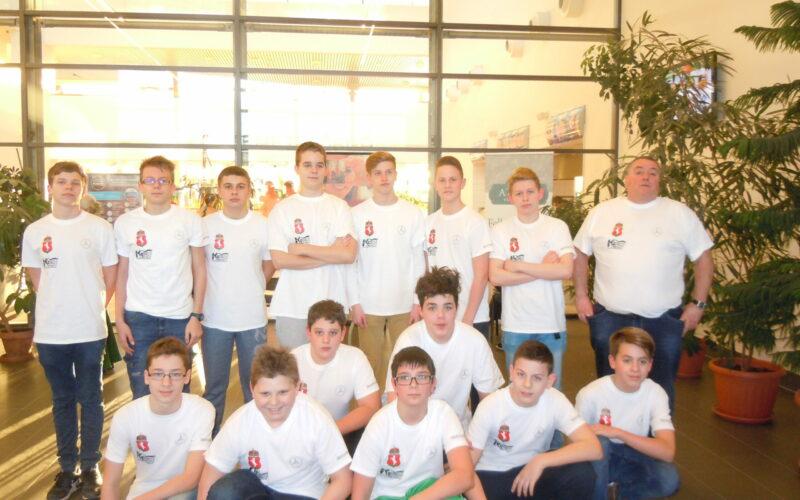 Hannoverben versenyeztek a vízilabdásaink