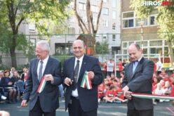 Új kültéri pályát kapott a II. Rákóczi Ferenc Általános Iskola