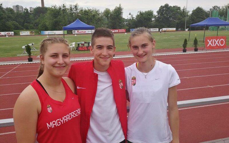 Három KESI-s atléta a nemzeti csapatban