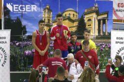 Fekete Zoltán ökölvívó aranyérmes lett Egerben