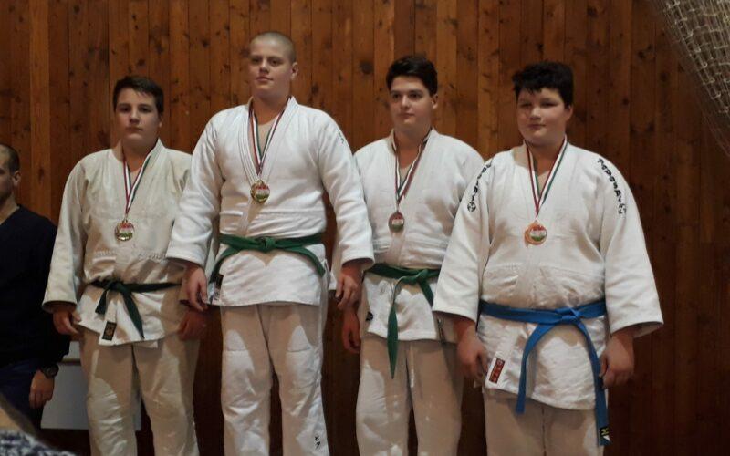 Ezüstérem a judo országos bajnokságról