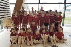 Kitűnően szerepeltek a sportiskola úszói a BÁCSVÍZ Kupán