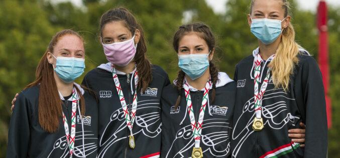 Két bajnoki cím, két ezüst és egy bronzérem az atléták mérlege