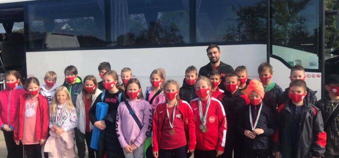 Jól szerepeltek a Sportiskola úszói a Hódmezővásárhelyen rendezett szintfelmérő versenyen