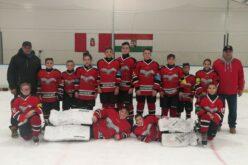 Kiemelkedően szerepel a Sportiskola U14-es jégkorong csapata is a bajnokságban