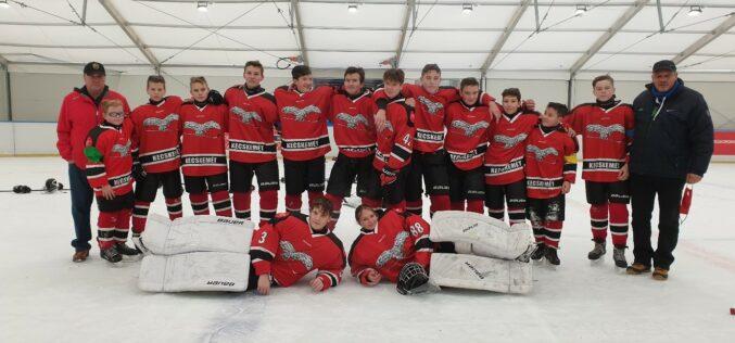 A Sportiskola U16-os jégkorong csapata vezeti a csoportját