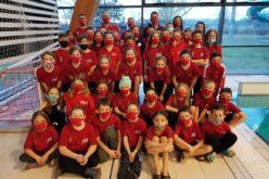 A X. Aranyhomok Kupán szerepeltek a sportiskola úszói