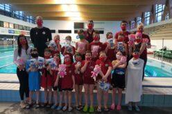 Az úszásnemek alapjaiból vizsgáztak a sportiskola legfiatalabb úszói