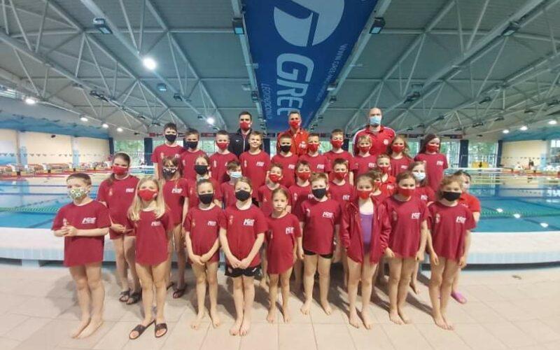 Öt aranyérmet nyertek a nemzetközi úszóversenyen a Kecskeméti Sportiskola úszói