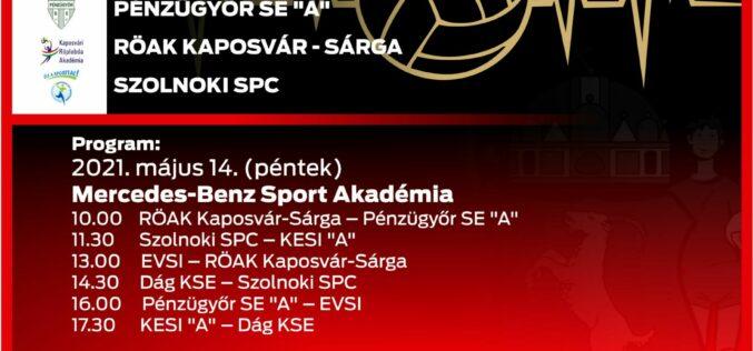Kecskeméten rendezik a röplabda U15 Országos Gyermek Bajnokságot