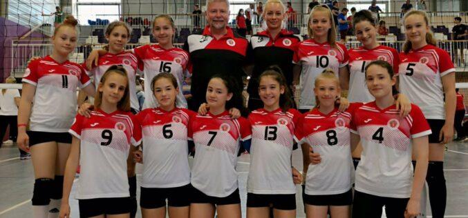 A Kecskeméti Sportiskola U13-as lány csapata 10. lett az országos döntőben