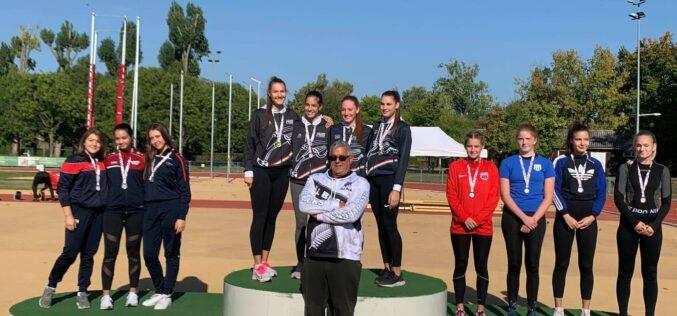 Parádésan szerepeltek a Kecskeméti Sportiskola atlétái a hétvégi országos bajnokságon