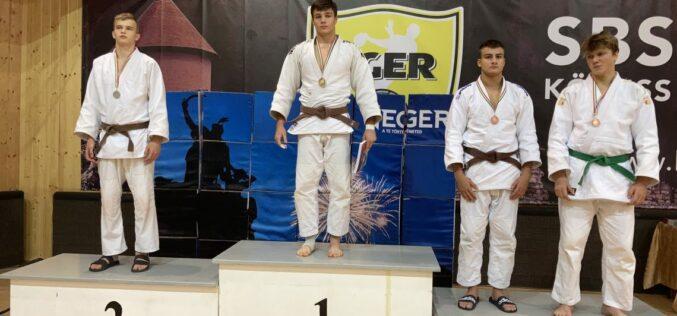 Major Ádám magyar bajnoki címet szerzett judoban